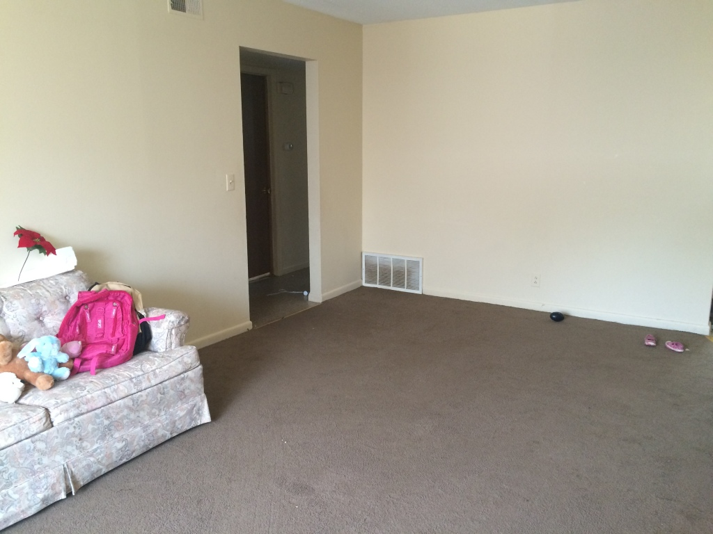 Empty living room.
